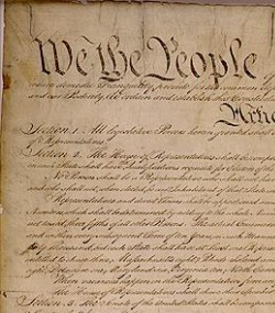 The Constitution declares in its Preamble that the people hold the place of the former British Sovereign.