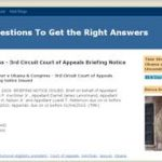 3rd Circuit Court of Appeals sets date for Kerchner vs. Obama & Congress