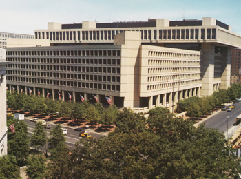 Edgar J. Hoover Bulding:  FBI Headquarters, Washington, D.C.