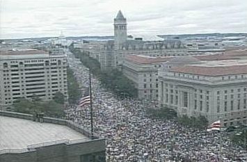 1.7 Million Tea Partiers storm the Capitol, Sept. 12, 2009