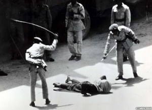 Public flogging is is a common punishment in the Muslim world