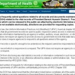 HI Department of Health Publicly rebuffs inquiries for Obama's vital records