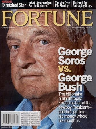 George Sors was featured in a previous Nov. issue of Fortune Magazine's European Edition.