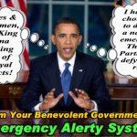 November 9th, 2011 – An Obama Coup d'etat!