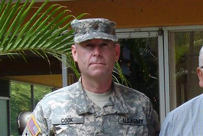 In July 2009, then-Maj. Stefan Cook questioned an order to deploy to Afghanistan because of doubts about Obama's constitutional eligibility to serve as President and Commander-in-Chief