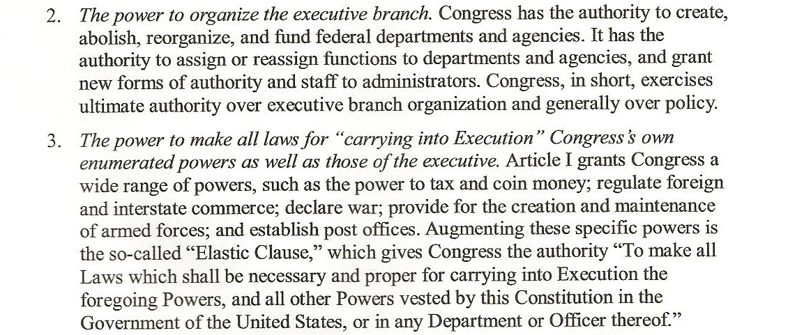 Page 4 Congressional Oversight Manual B