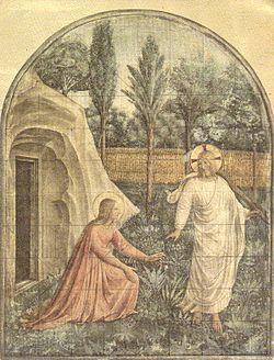 Jesus with Mary Magdalene
