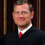Just After 2:00 p.m.:  Chief Justice John Roberts Enters Senate with Escorts