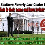 "The SPLC is a ""Hate"" Group by its Own Definition‏"