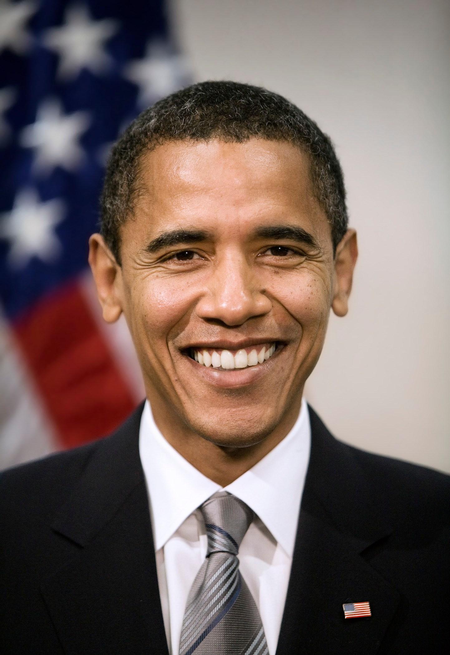 Obama Big Smile