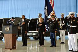 Five Years Ago, Obama Said Military Would Guard U.S. Embassies