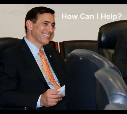 Rep. Darrell Issa's Office Fails to Respond to Obama Regime Corruption Questions