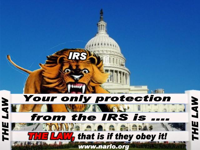 Can There Be Any Escape From the Outlaw IRS?