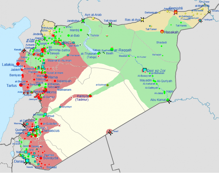Four U.S. Senators Introduce Measure to Prevent Military Aid to Syria