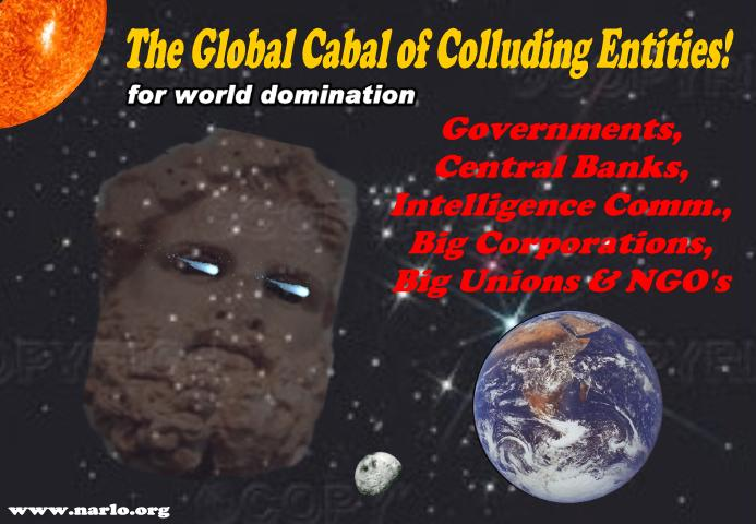 The Threat of The Global Cabal of Colluding Entities