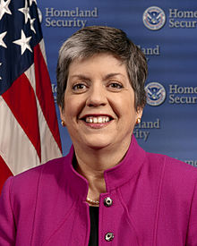 Janet Napolitano Leaving the Obama Regime