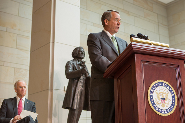 "Citizen to Speaker Boehner:  Immigration Should not Benefit ""Delinquents"""
