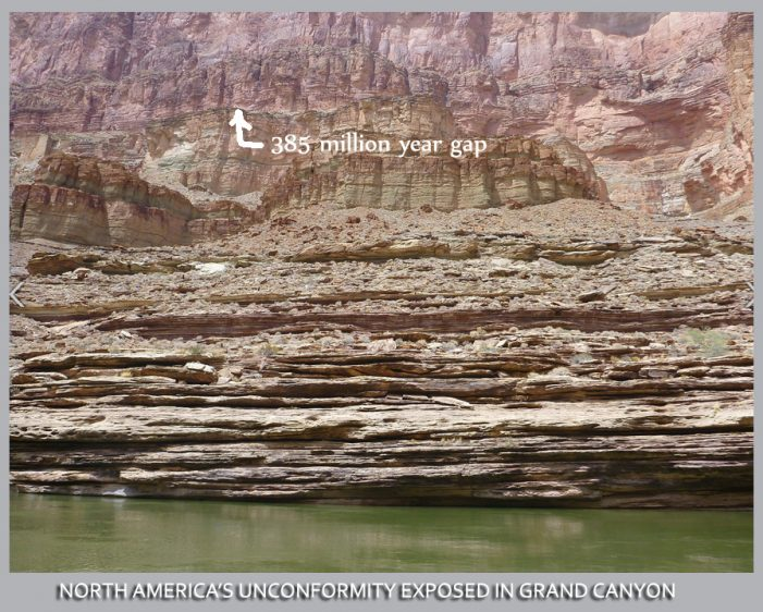 Geological Unconformity:  A Clue to Creation?