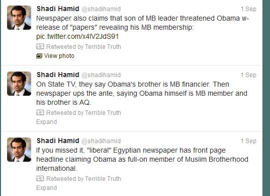 Breaking:  Report:  Obama a Member of The Muslim Brotherhood