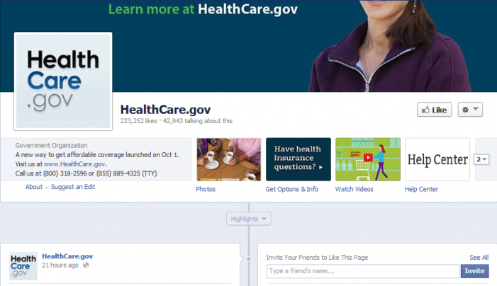 Obamacare Facebook Page Hears from The Post & Email
