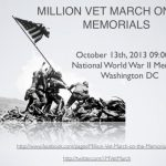 Continued Coverage of Million Vets March