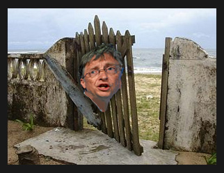 'Gates' Unhinged