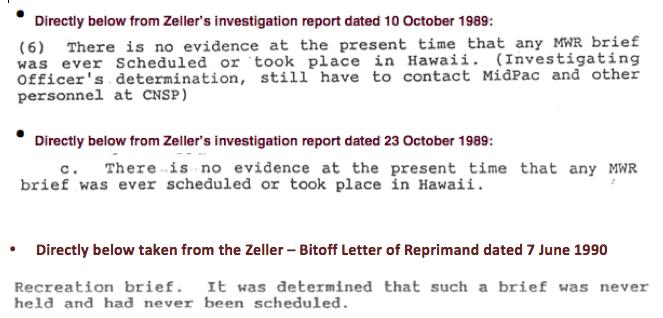 Hawaii trip comparisons correction