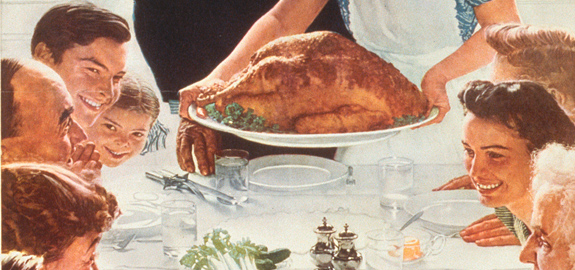 Image result for Norman Rockwell thanksgiving