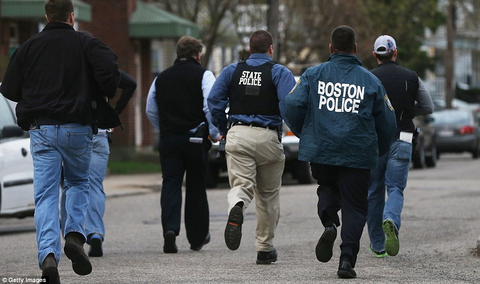 Adult boston police swim