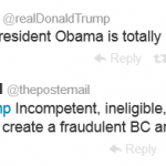 Donald Trump and Obama Forgery
