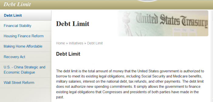 What IF the Debt Limit WAS Zero?