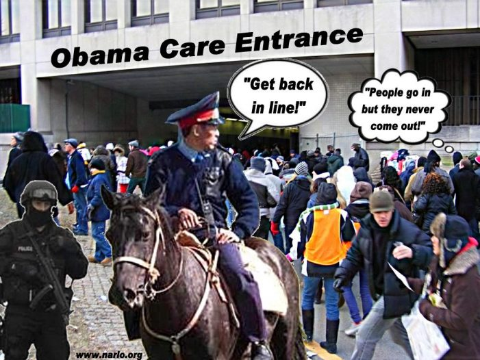 Wrapped In The Chains of Obama Care