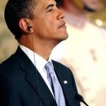 Obama head up