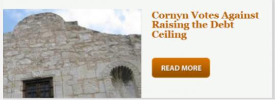 Cornyn debt ceiling vote