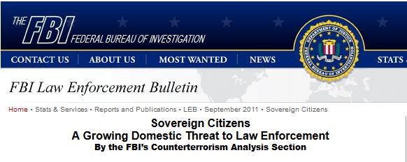FBI Sovereign Citizens