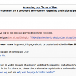 Why Did Wikipedia Remove Page for Michael Shrimpton?