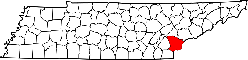 Monroe County TN Map