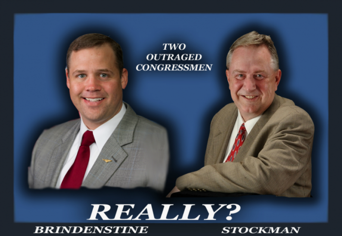 "Open Challenge to ""Supposedly"" Outraged Congressmen"