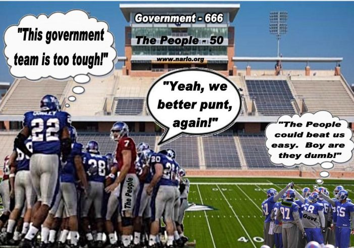 Obama Pushes and the People Punt!