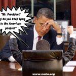 Mr. President, You Are A Consummate Liar!