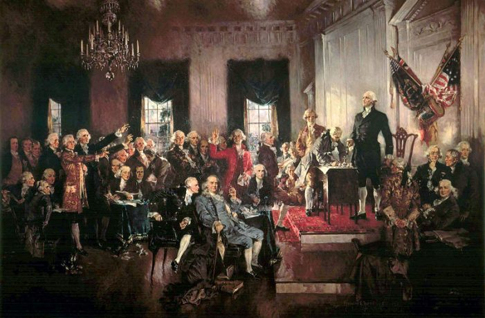 Constitutional Scholar Speaks on the Founding Fathers, Natural Born Citizen, and American History