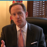 Sen. Pat Toomey Gives Non-Responsive Response to Operation American Spring Petition pb