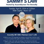 CA Assemblyman Holds Press Conference on Proposed Child Welfare Law