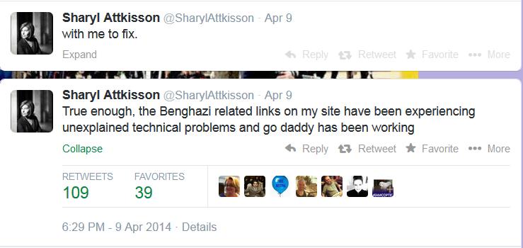 Sharyl Attkisson Twitter 04-12-14