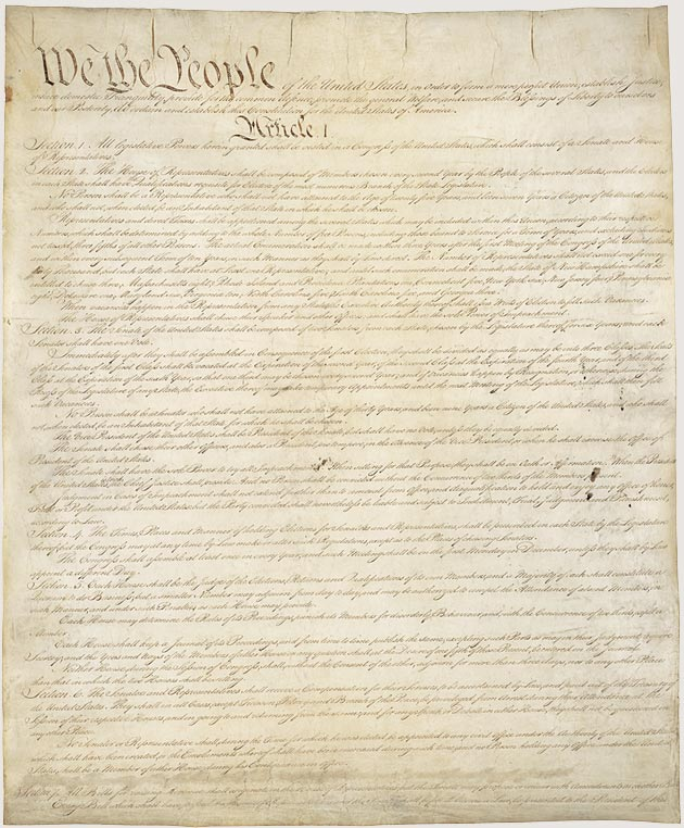U.S. Constitution Large