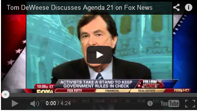 Tom DeWeese to Host a Series of FREE Webinars to Teach Activists How to Stop Agenda 21! pb