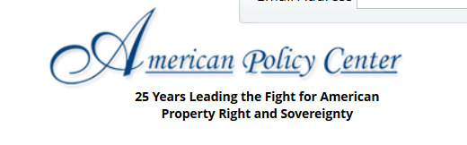 Third Free Webinar From The American Policy Center on Agenda 21 on Sunday Evening