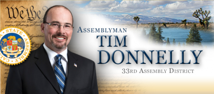 Asm. Donnelly Refuses Brown's Invite to Honor Mexican President, Demands Release of Marine