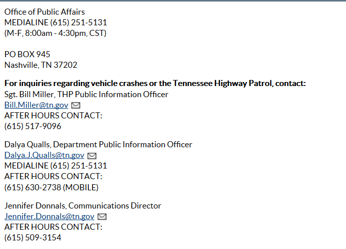 """Tennessee Highway Patrol:  Staring, Intimidating and Demanding ID """"Acting Professionally"""""""