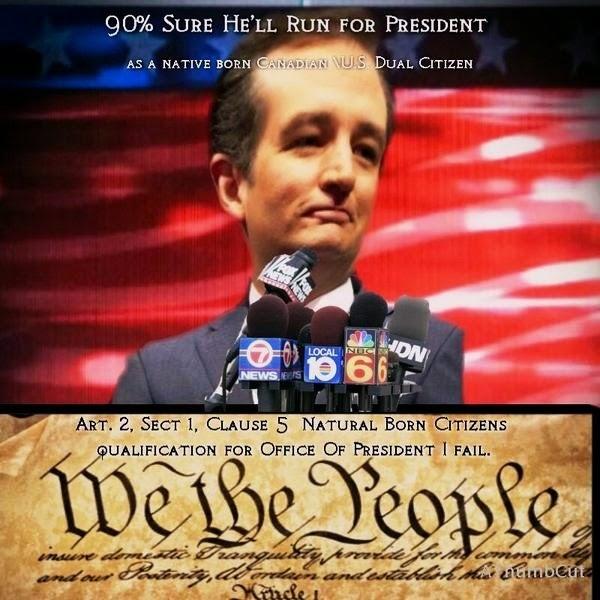 Hero to Zero – Cruz 90% Sure He Wants to Subvert the United States Constitution; His Advisors 100%